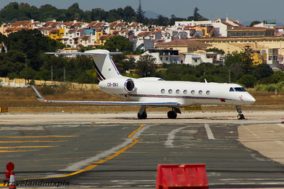 CS-DKI NetJets Europe Gulfstream Aerospace G550 (GV-SP) Malaga Airport 27/06/2015