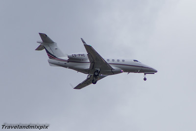 CS-PHC Embraer EMB-505 Phenom 300 NetJets Europe Glasgow Airport 14/06/2015