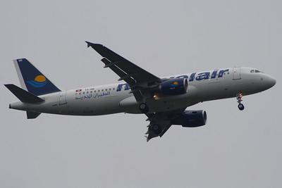 TS-INR Nouvelair Airbus A320-214 Glasgow Airport 25/06/2014