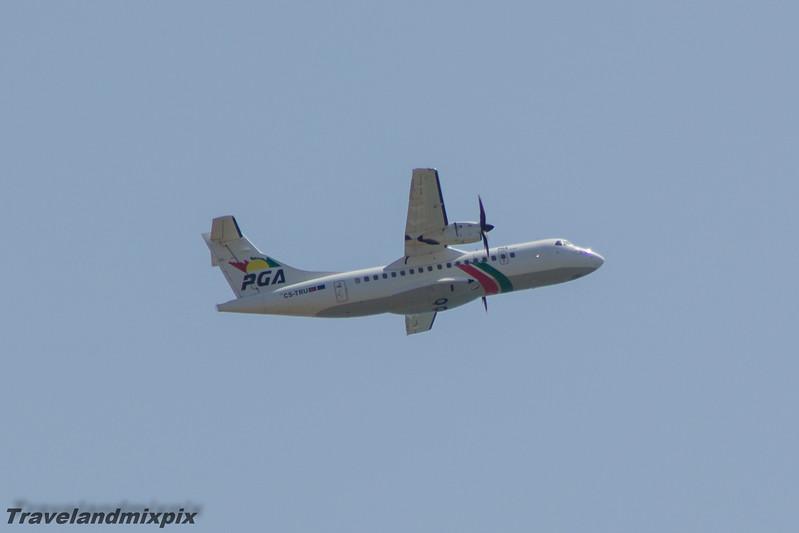 CS-TRU<br> PGA Portugalia<br> ATR 42-600<br> Malaga Airport<br> 30/06/2015<br>