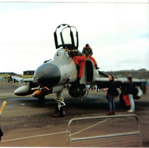 37+44 McDonnell Douglas F-4F Phantom II Jagdbombergeschwader 74 (JaboG 74) Luftwaffe Prestwick Airport 30/05/1987 A Phantom of JBG 74 'Molders'