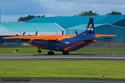 UR-CJN Cavok Airlines Antonov An-12B Prestwick Airport 30/07/2016