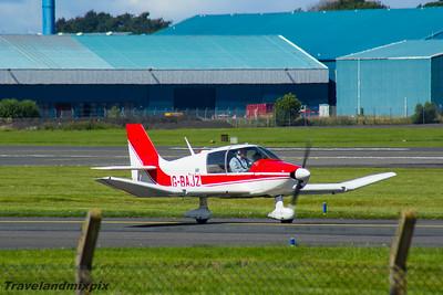G-BAJZ Avions Pierre Robin DR400 Dauphin Prestwick Flying Club Prestwick Airport 30/07/2016
