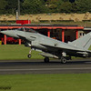 ZK352<br> Eurofighter Typhoon FGR.4<br> Royal Air Force<br> 29 Squadron<br> Prestwick Airport<br> 04/09/2016<br> <i>Eurofighter Typhoon of 29 Squadron. It is the display Typhoon for the RAF Typhoon Display Team, piloted by Flt Lt Mark Long, and it is returning from the Northern Ireland Airshow at Portrush.</i>