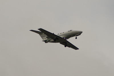 G-LEAB A Cessna 510 Citation Mustang of London Executive Aviation on approach to Glasgow Airport