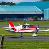 G-BAJZ<br /> Avions Pierre Robin DR400 Dauphin<br /> Prestwick Flying Club<br /> Prestwick Airport<br /> 30/07/2016