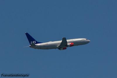 LN-RCY SAS Scandinavian Airlines Boeing 737-883 Malaga Airport 22/06/2015