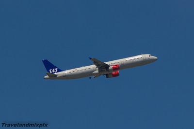 OY-KBK SAS Scandinavian Airlines Airbus A321-232 Malaga Airport 24/06/2015