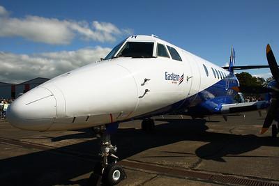 G-MAJH Eastern Airways British Aerospace BAe 4101 Jetstream 41 Scottish Airshow Prestwick Airport 07/09/2014