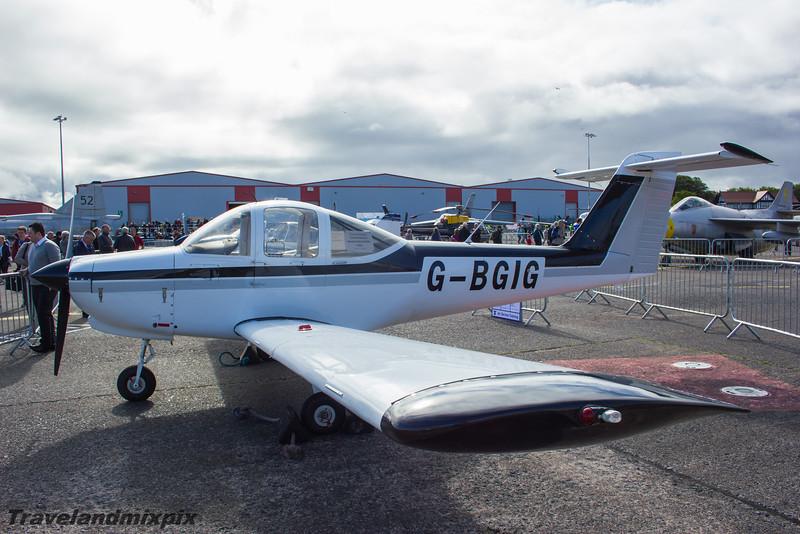 G-BGIG<br /> Piper PA-38-112 Tomahawk<br /> Air Claire Ltd<br /> Prestwick Airport<br /> 06/09/2015