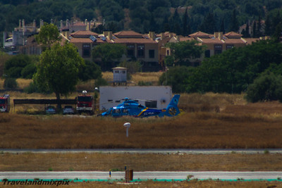 EC-KUH Eurocopter AS 365N2 Dauphin Agencia Tributaria Aduanas (Spanish Customs) Malaga Airport 24/06/2015