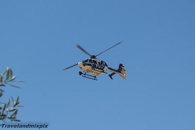 EC-LOS Eurocopter EC135 P2+ Cuerpo Nacional de Policia (Spain) Malaga Airport 24/06/2015