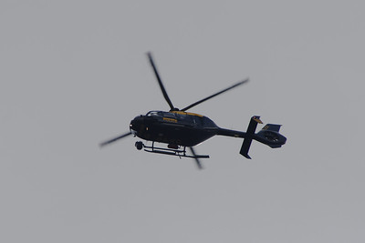 Former Strathclyde Police, now Police Scotland, Eurocopter EC-135T-2 (G-SPAO) on operations