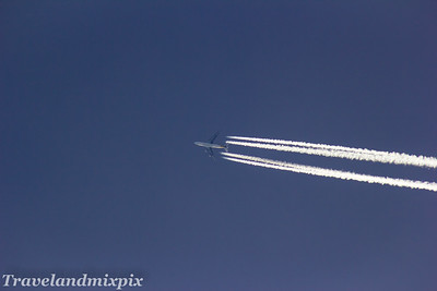 9V-SFI Boeing 747-412F(SCD) Singapore Airlines Cargo 02/04/2017 flying at 35000 feet on a service from Dallas to Brussels