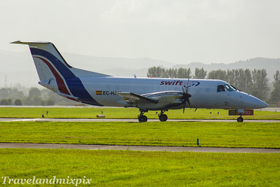 EC-HAK Swiftair  Embraer EMB-120FC Brasilia  Glasgow Airport  26/07/2017