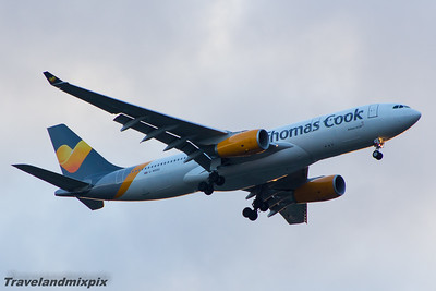 G-MDBD Thomas Cook Airlines Airbus A330-243 Glasgow Airport 13/05/2015