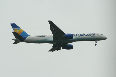 G-FCLJ Thomas Cook Airlines Boeing 757-2Y0 Glasgow Airport 10/08/2014 Withdrawn November 2014