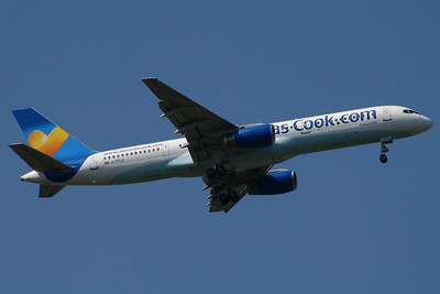 G-FCLA Thomas Cook Airlines Boeing 757-28A Glasgow Airport 23/07/2014 Withdrawn November 2014