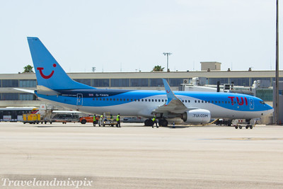 Boeing 737's of TUI Airways