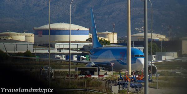 Boeing 737's of TUI fly Belgium