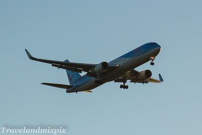 Boeing 767's of TUI Airways