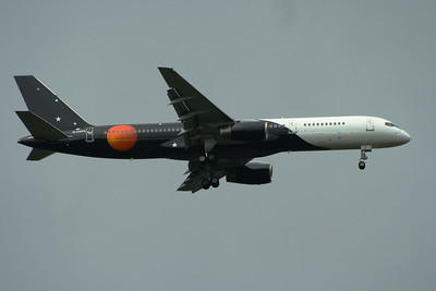 G-ZAPX Titan Airways Boeing 757-256 Glasgow Airport 25/05/2014 Operating a service on behalf of British Airways