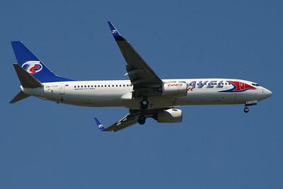 OK-TSD Travel Service Boeing 737-8Q8 Glasgow Airport 23/07/2014