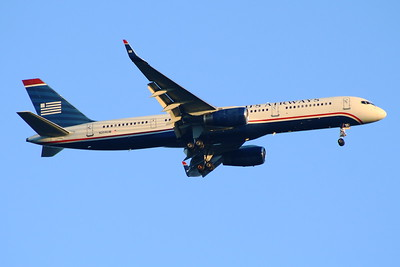 N204UW Boeing 757-23N US Airways Glasgow Airport 27/08/2014