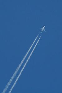 UR-GEC Ukraine International Airlines Boeing 767-33A(ER) 25/07/2014 At 37,000 feet on a service from New York JFK to Kiev
