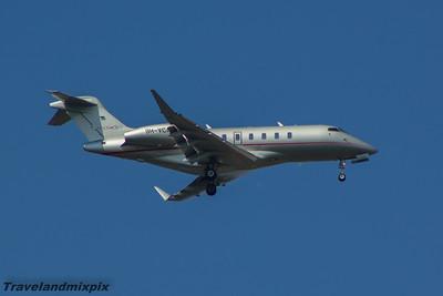 9H-VCA VistaJet Malta Bombardier BD-100-1A10 Challenger 350 Glasgow Airport 23/08/2015