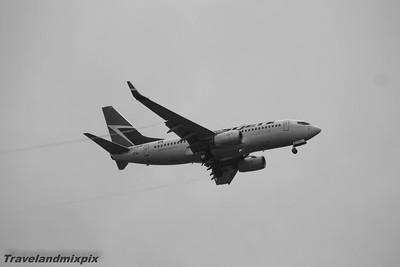 C-FWSK WestJet Airlines Boeing 737-7CT Glasgow Airport 16/07/2015
