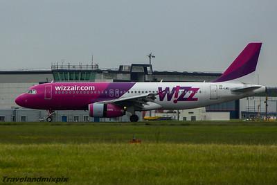 HA-LWG Wizz Air Airbus A320-232 Glasgow Airport 13/06/2015