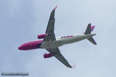 HA-LYN Wizz Air Airbus A320-232 Glasgow Airport 30/05/2015