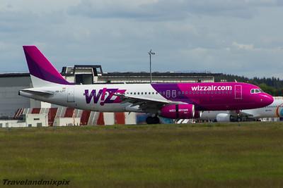 HA-LPT Wizz Air Airbus A320-232 Glasgow Airport 30/05/2015