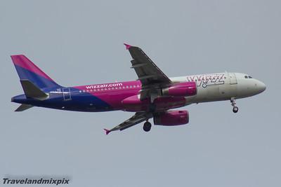 HA-LPW Wizz Air Airbus A320-232 Glasgow Airport 14/04/2016