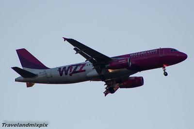 HA-LPQ Wizz Air Airbus A320-232 Glasgow Airport 18/04/2015