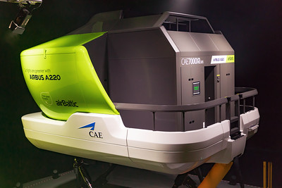 Air Baltic A220 Simulator 12-3-19 2
