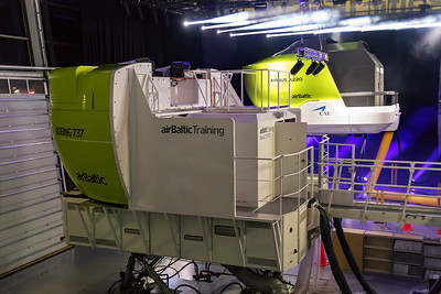 Air Baltic A220 Simulator 12-3-19 10