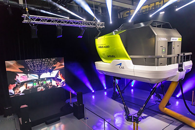 Air Baltic A220 Simulator 12-3-19 4