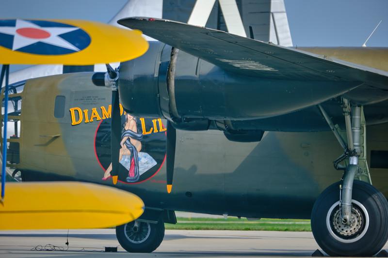 B-24 Liberator  Diamond Lil