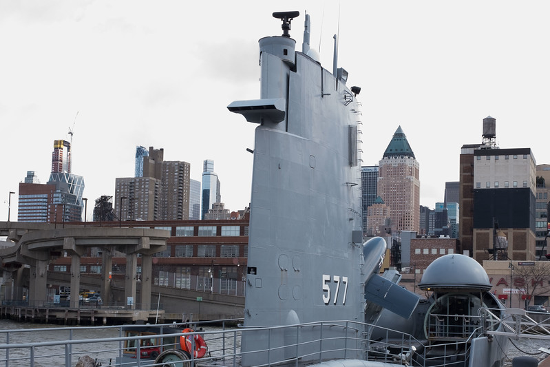 USS Growler Guided Missile Submarine
