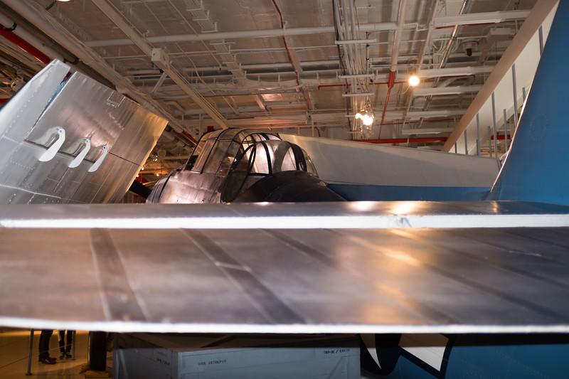 Grumman/Eastern Aircraft TBM-3E Avenger -  Hanger Deck