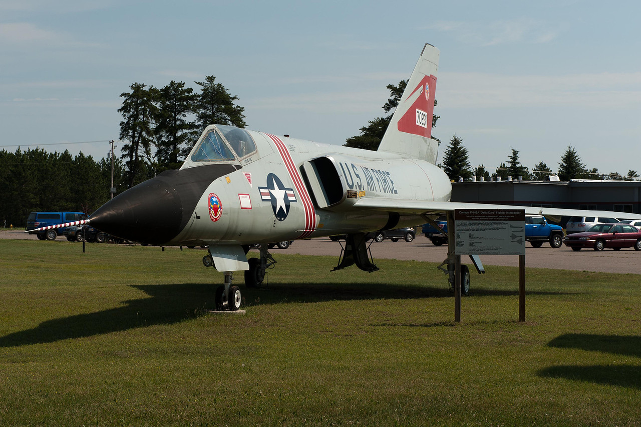 "Convair F-106A ""Delta Dart""  tail number 56-0461"
