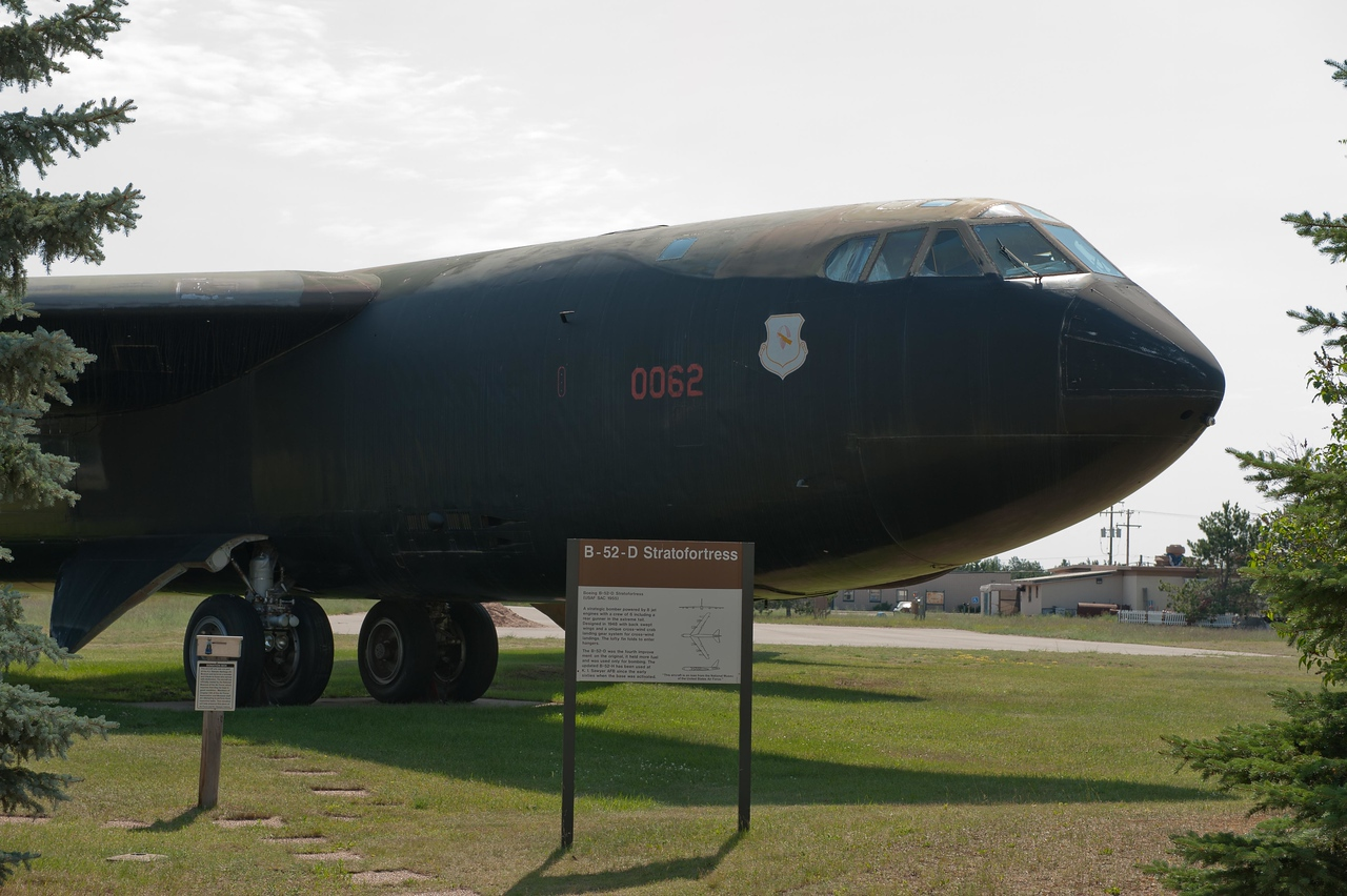 "Boeing B52D ""Stratofortress""  tail number 55-0062"