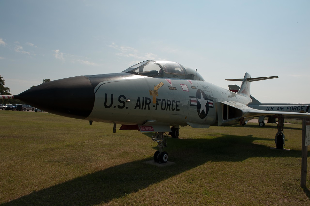 """McDonnell F101B """"Voodoo"""" tail number 58-0291"""