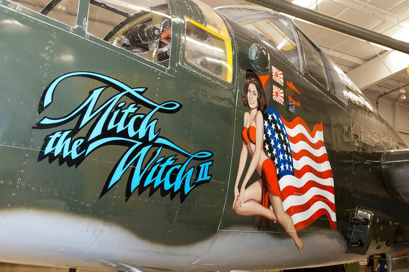 "North American B-25 Mitchell Bomber ""Mitch the Witch II"""