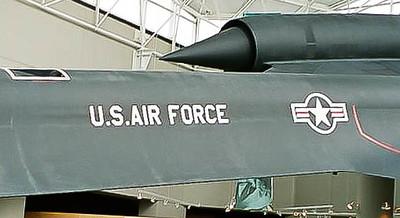 """Lockheed SR-71A,  """"Blackbird"""", S/N 61-7964"""