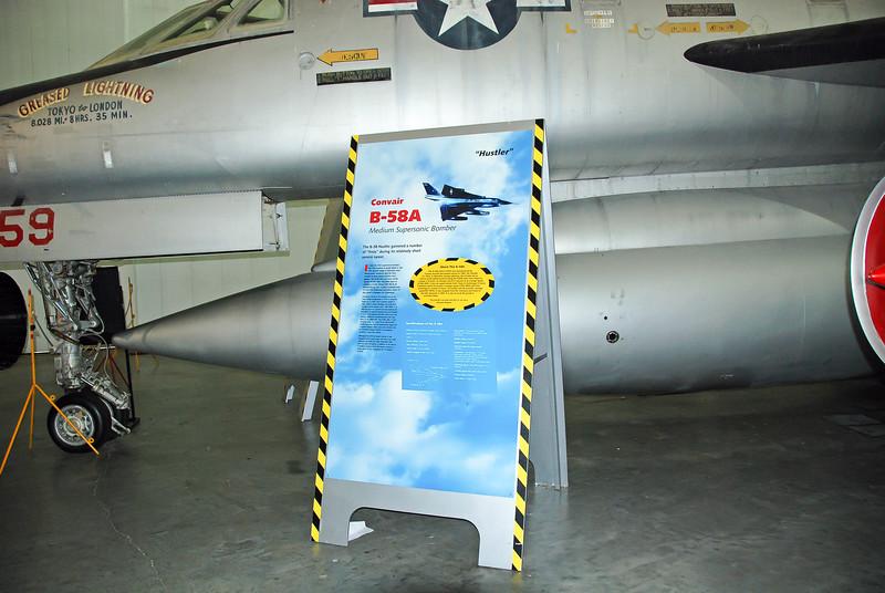 """B-58A """"Hustler"""""""