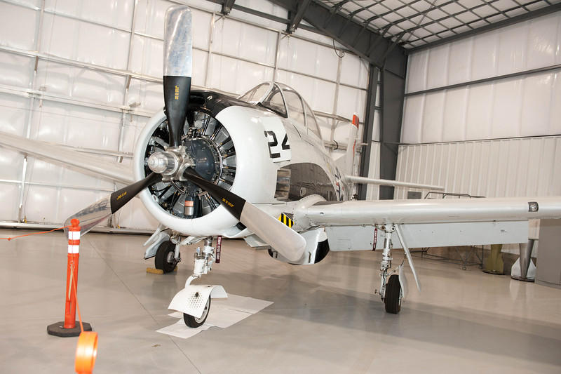 Warbirds Cafe, Driggs, ID<br /> T-28 Trojan