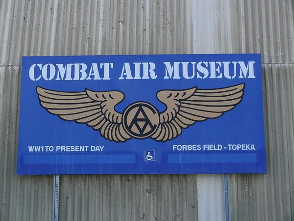 Combat Air Museum sign
